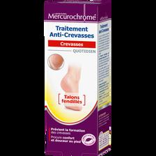 Traitement anti-crevasses MERCUROCHROME, tube de 75ml