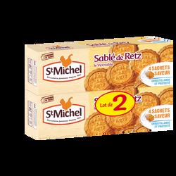 Sablé de Retz ST MICHEL, lot de 2 paquets, soit 240g