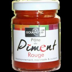 Pâte de piment rouge GOURMETISS, bocal de 90g