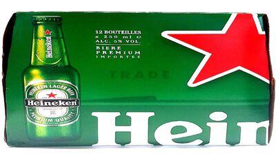 HEINEKEN 12X25CL BOUTEILLE