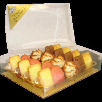 Café gourmand moelleux, ASTRUC PATISSERIE, boîte transparente 130g