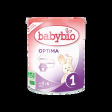 Optima 1 BABYBIO, boîte de 400g