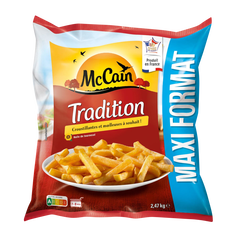 Frites tradition MC CAIN, sachet 2,47kg