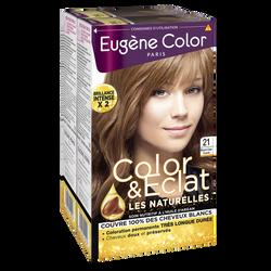 Coloration permanente blond clair cuivré n°21 EUGÈNE COLOR, x2