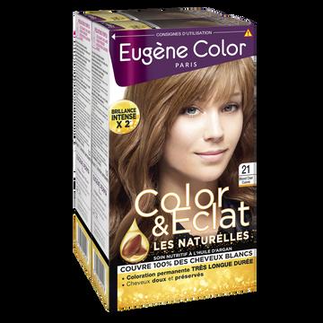 Eugène Color Coloration Permanente Blond Clair Cuivré N°21 Eugène Color, X2