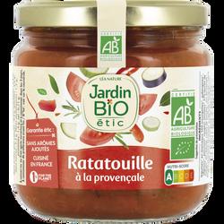 Ratatouille cuisiné herbes provence bio JARDIN BIO 400g