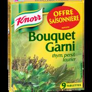 Knorr Bouquet Garni Knorr, 9 Tablettes Soit 99g
