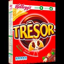 Céréales Trésor chocolat noisettes KELLOGG'S, paquet de 375g