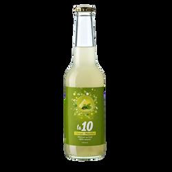 Pétillant citron - menthe LA 10, bouteille de 27.5cl