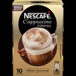 Cappuccino Intenso NESCAFE, 10 sticks, 125g