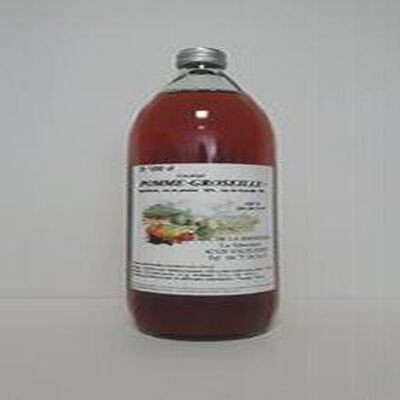 Cocktail Pomme Groseille GAEC DE LA SIBERTIERE bouteille 1L