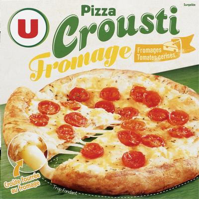 Pizza crousti fromage tomates cerises U, 460g