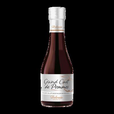 Vinaigre de vin rouge grand cuit de pommes DELOUIS, bouteille de 25cl
