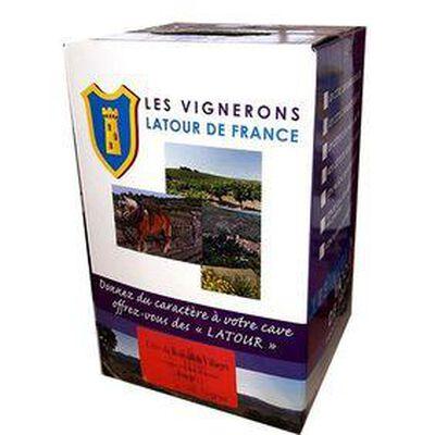 vin rouge IGP, VIGNERONS LATOUR DE FRANCE - BIB de 5L