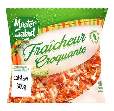 Mélange Coleslaw chou Blanc/carotte, MASTER SALAD, 300g