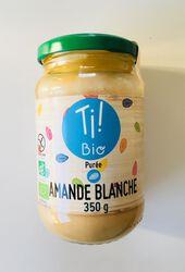 Purée amande blanche BIO, CLUB BIO, bocal de 350g