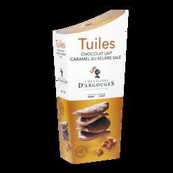 Tuiles lait caramel beurre salé CHEVALIERS D'ARGOUGES, 130g
