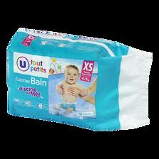 Culotte de bain U TOUT PETITS, 4 à 9kg, paquet de 12