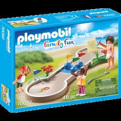 Playmobil Family Fun  - Mini-golf - 70092 - Dès 4 ans