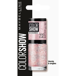 """Vernis à ongles """"Colorshow"""" n°232 rose chic MAYBELLINE"""
