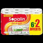 Sopalin Essuie-tout Sur Mesure Décor Sopalin, X 6 + 2 Offert