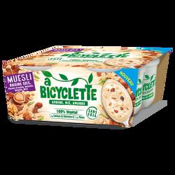 Spécialité base avoine riz amande muesli raisin A BICYCLETTE, 4x100g