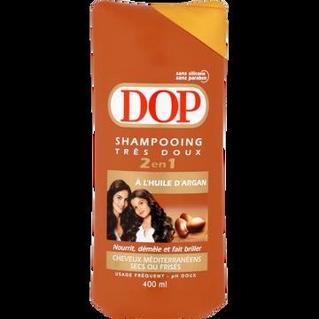 Dop Shampooing 2 En 1 À L'huile D'argan Chevex Secs Et Frisés Dop, 400ml