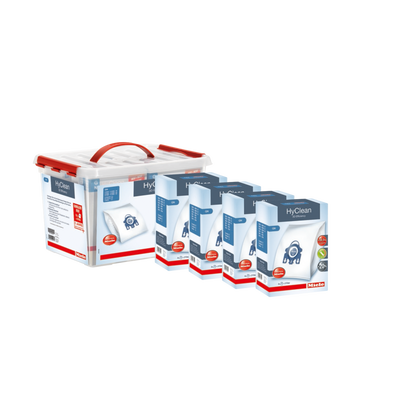PACK TRANQUILITE MIELE GN-COMPRENANT:16 SACS HYCLEAN 3D EFFICIENCY GN,4 FILTRES D'EVACUATION AIRCLEAN,4 FILTRESMOTEUR EMBALLEES