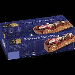 Traineau 3 chocolats ERHARD, 750g
