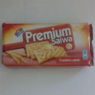 Crackers salés Premium SAIWA, paquet de 250g