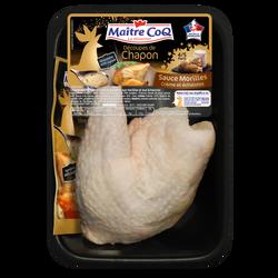 Cuisse chapon blanc déjointée, + sauce aux morilles, MAITRE COQ, France, 1 pièce
