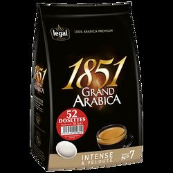LEGAL GRAND ARABICA INTENSE 1851 52PADS