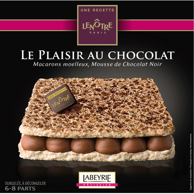Plaisir au chocolat recette LENÔTRE LABEYRIE, 405g