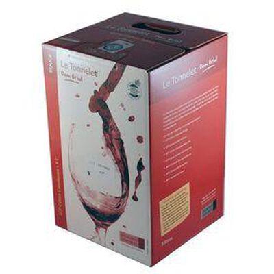 """Vin rouge, Côtes Catalanes """"Le Tonnelet"""" - DOM BRIAL - BIB de 3L"""