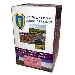 vin Rosé IGP, VIGNERONS LATOUR DE FRANCE - BIB de 5L