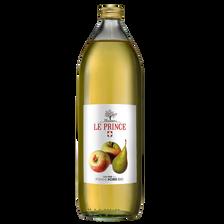 Pur Jus de pomme poire THOMAS LE PRINCE BIO, bouteille de 1l
