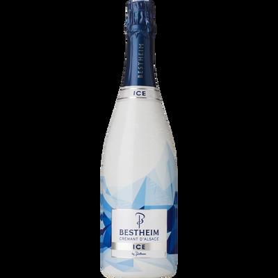 Crémant d'Alsace demi-sec ice BESTHEIM, bouteille de 75cl