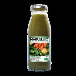 Soupe aux 7 légumes Marcel bio 48cl