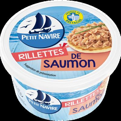 Rillettes de saumon PETIT NAVIRE, boîte de 1/6, 125g