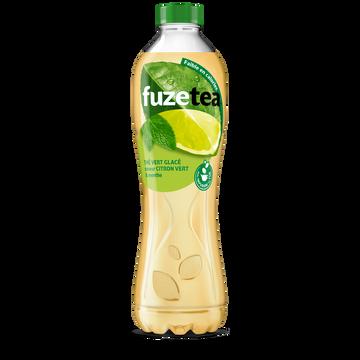 Fuze Tea Boisson Au Thé Fuzetea Menthe Citron Vert - Bouteille 1,25l