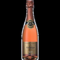 Crémant rosé AOP d'Alsace WOLFBERGER, 6x75cl