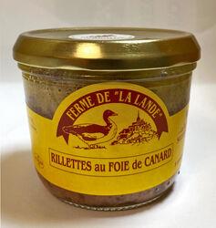Rillettes au foie de canard, FERME DE  LA LANDE , 170G