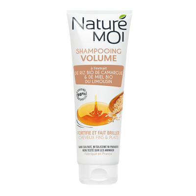 Shampooing volume pour cheveux fins NATURE MOI, 250ml