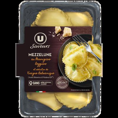 Mezzelune au parmigiano reggiano et réduction de vinaigre balsamique USAVEURS, 250g
