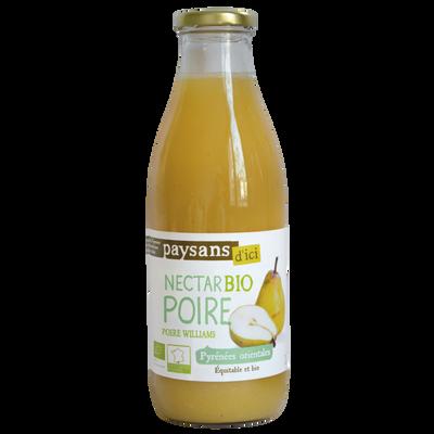 Nectar de poire williams roussillon bio ETHIQUABLE, 75cl
