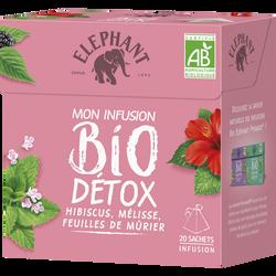 Infusion bio détox ELEPHANT, 20 sachets de 34g