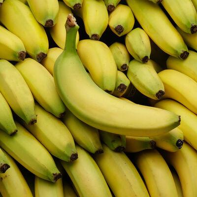 Banane cavendish, BIO, catégorie 2, Côte d'Ivoire, sachet 600g