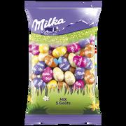 Milka Petits Oeufs Fourrés Mix 5 Goûts Milka, 500g