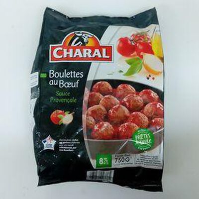 BOULETTE BOEUF CHARAL SAUCE PROVENCALE 750G