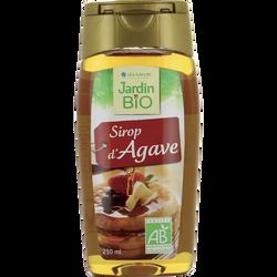 Sirop d'agave JARDIN BIO, flacon souple de 250ml